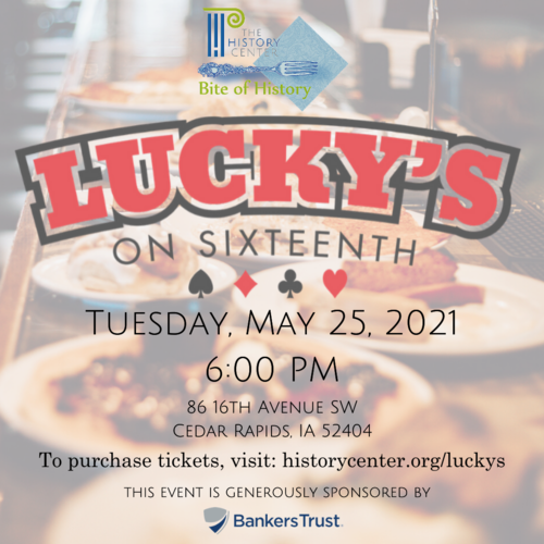 Bite of History - Lucky's on 16th
