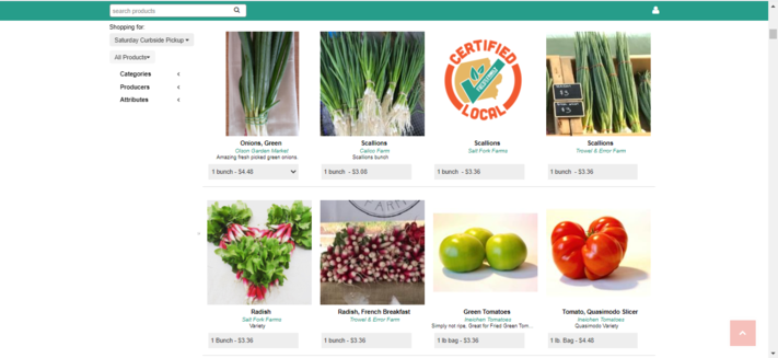 Order Local Foods with Field to Family's Online Farmers Market