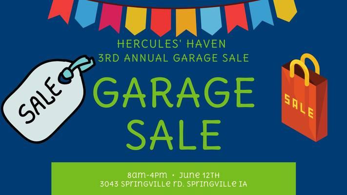 Hercules' Haven Garage Sale