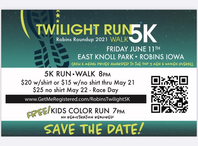 Robins Twilight 5K Walk/Run
