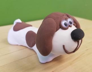 Search let s draw  paint   sculpt model magic puppy