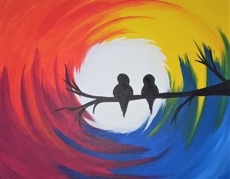 Search rainbow birds  2