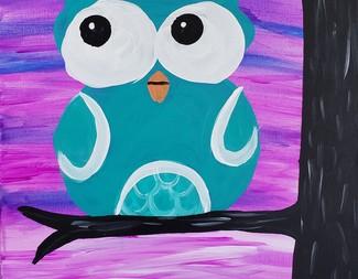 Search owl   purple