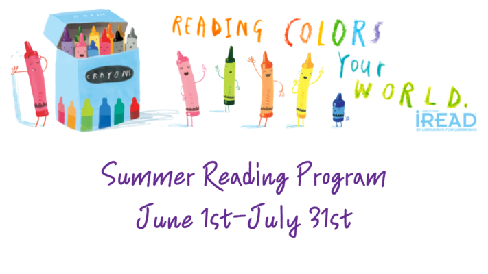 Summer Reading Program - Reading Colors Your World