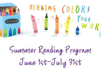 Search summer reading program poster