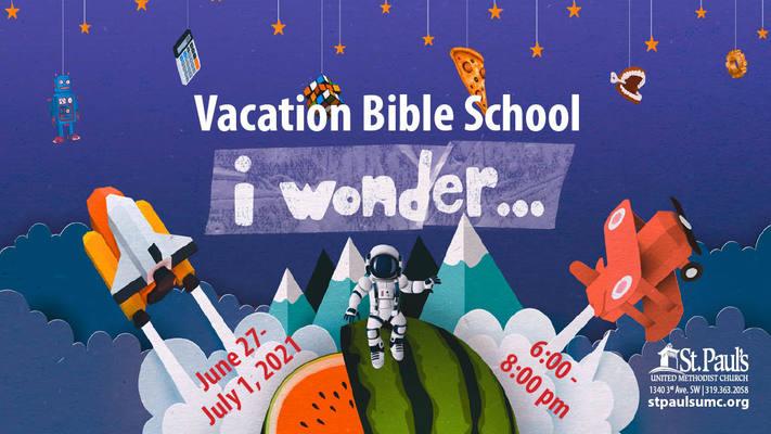 Vacation Bible School - St. Paul's UMC, Cedar Rapids