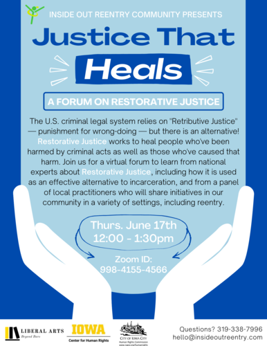 Justice That Heals: A Forum on Restorative Justice