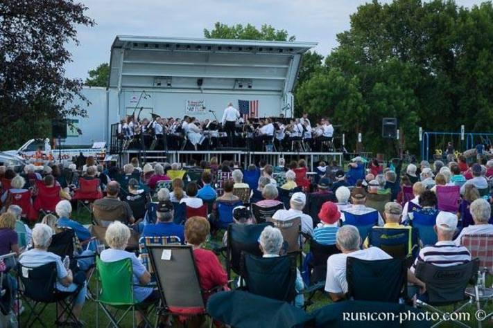 CR Municipal Band at Bever Park