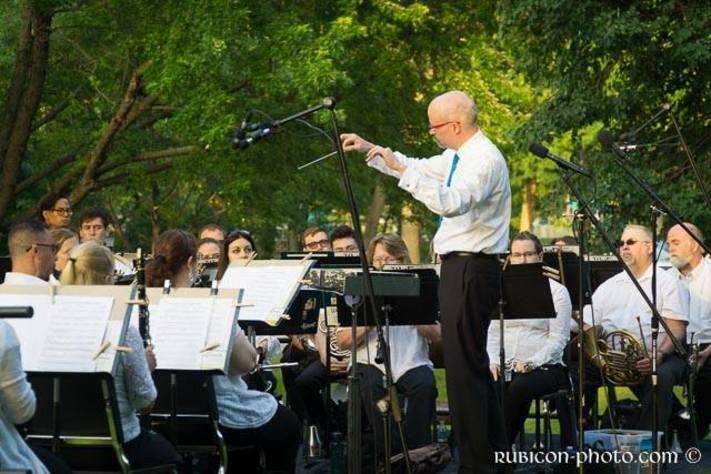 CR Municipal Band: Brass vs. Woodwinds!