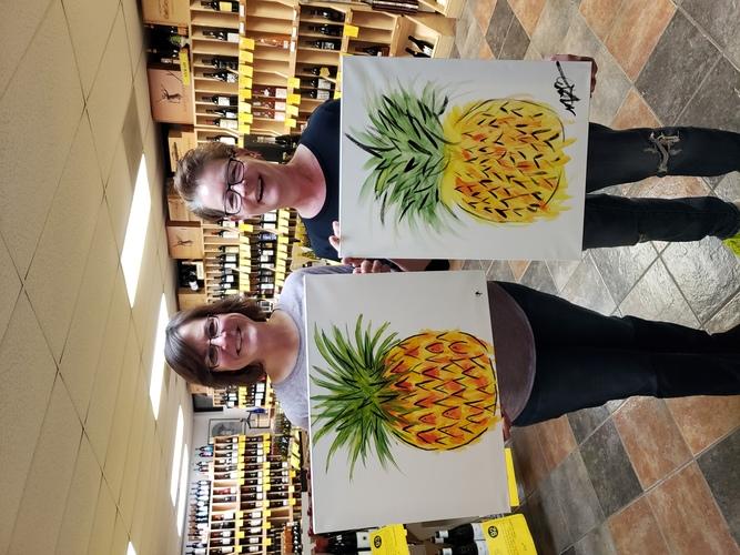 Pineapple - Edgewood Rd Hy-Vee - Cork N Canvas Iowa