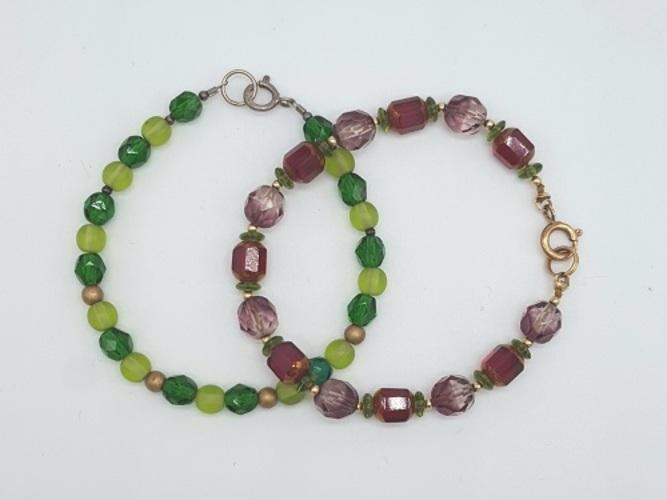 Make 2 Bracelets:  Intro to Stringing