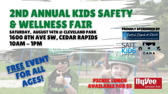2nd Annual Kids' Safety & Wellness Fair