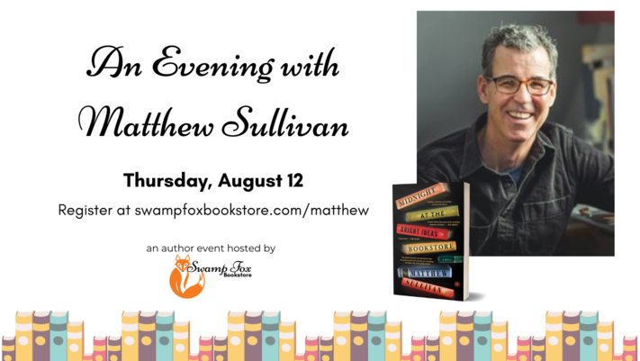 An Evening with Matthew Sullivan