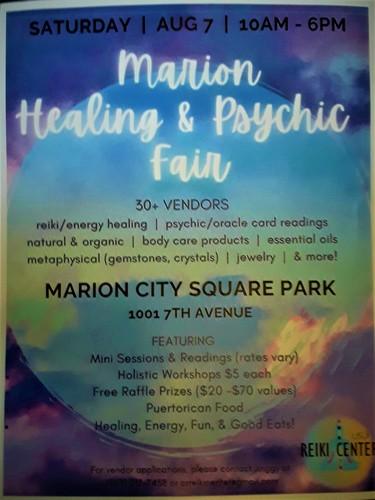 Marion Healing & Psychic Fair