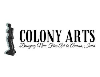 Search colony arts logo txt landscape