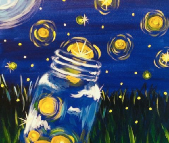 Big & Little Firefly Paintings