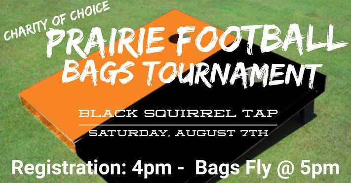 Prairie Football Bags Tournament - Charity of Choice
