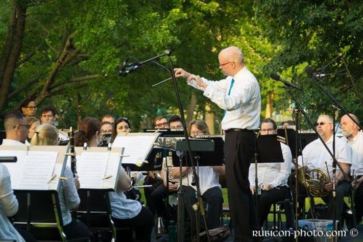 CR Muni Band in Bever Park