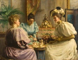 Search 5 oclock tea by david comba adamson 1859 1926 via dundee art gallery and museum e1531720084862 8c062