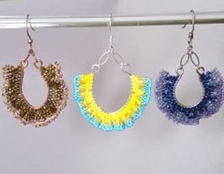 Search ruffles galore earrings brick stitch mixed beadology iowa