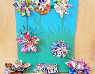 Search recycled blooms upcycle beadology iowa
