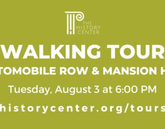 Search auto row walking tour