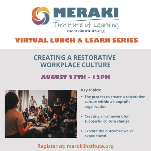 Creating a Restorative Workplace Culture