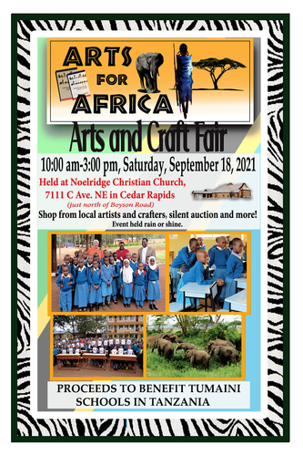 Arts for Africa Art and Craft Fair