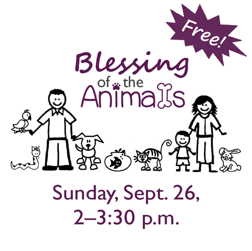 Blessing of the Animals at Prairiewoods