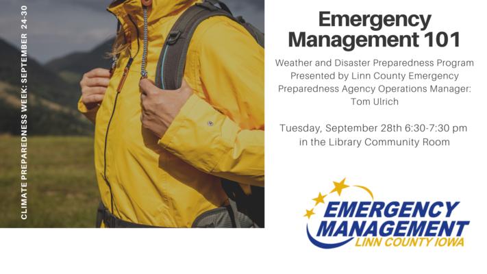 Emergency Management 101 Presentation