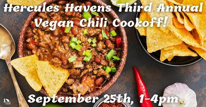 Hercules Havens Third Annual Vegan Chili Cook-off