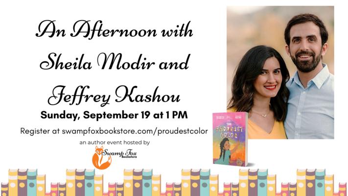 An Afternoon with Sheila Modir and Jeffrey Kashou