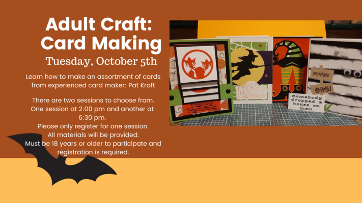 Adult Craft: Card Making