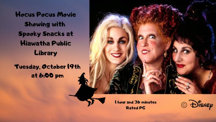 Hocus Pocus Movie Showing