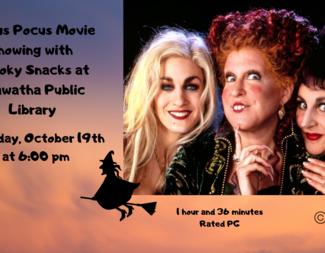 Search hocus pocus movie showing