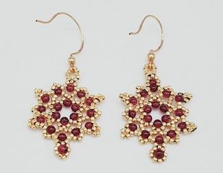 Search netted earrings beadology iowa