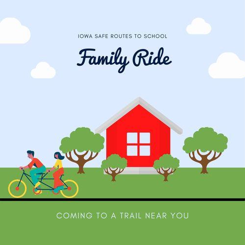 Iowa Safe Routes to School - Marion Family Ride
