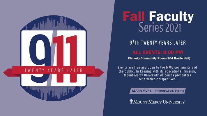 Fall Faculty Series: Fear & Trauma After 9/11