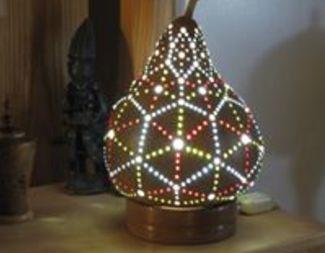 Search rick hugill gourd lamp beadology iowa
