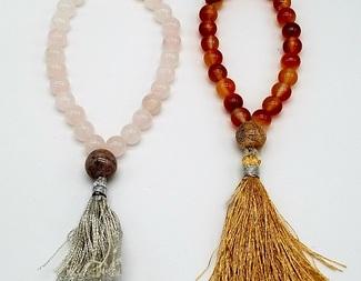 Search make a mala prayer bracelet gemstone beadology iowa
