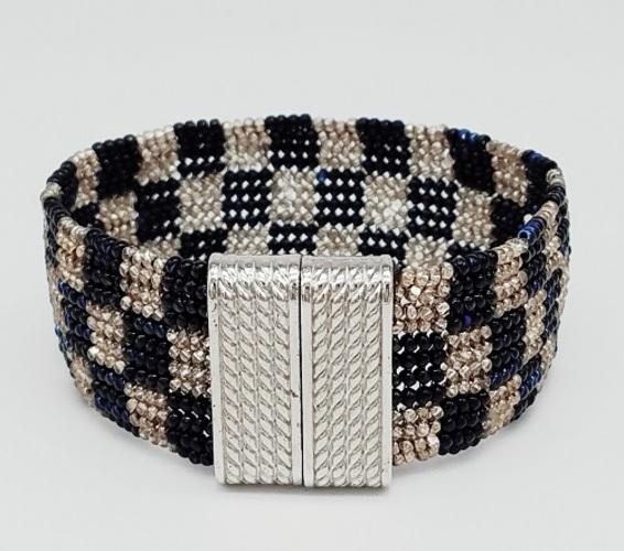Herringbone Checkered Bracelet