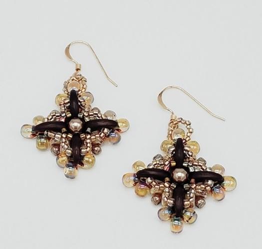 Cosmic Flora Earrings