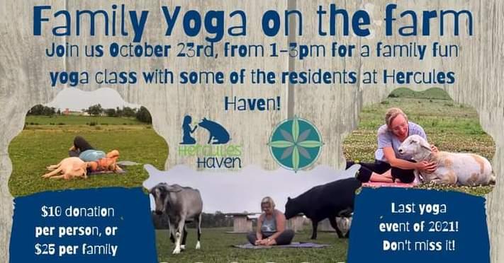Family Yoga on the Farm