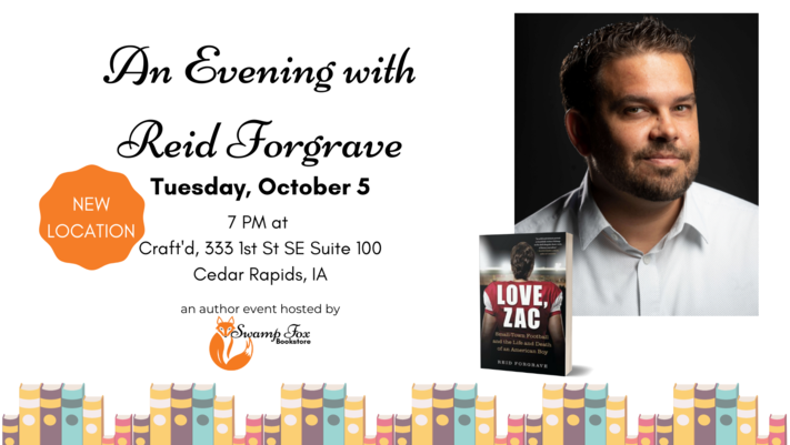 An Evening with Reid Forgrave