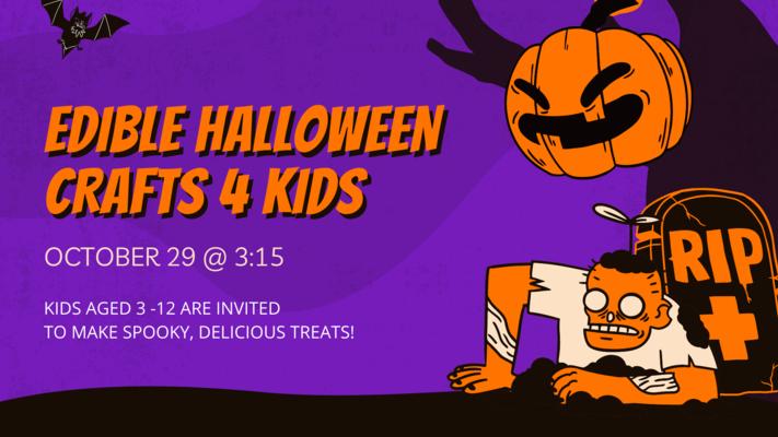 Crafts 4 Kids: Edible Halloween Crafts