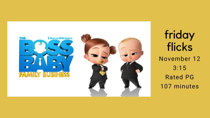 Friday Flicks: The Boss Baby, Family Business