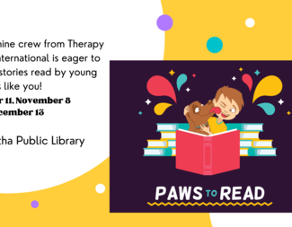 Search  paws to read october 2021  2