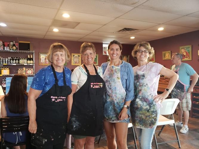 Vineria Wine Bar -  Surf and Sun - Cork N Canvas Iowa