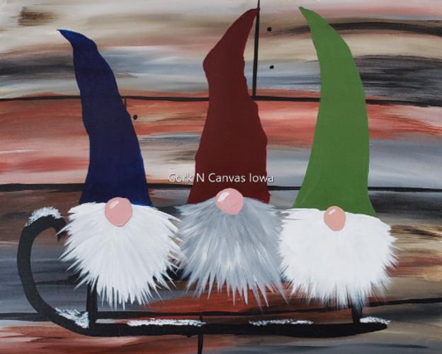 BIT BREWERY, Winter Gnome, Cork N Canvas Iowa
