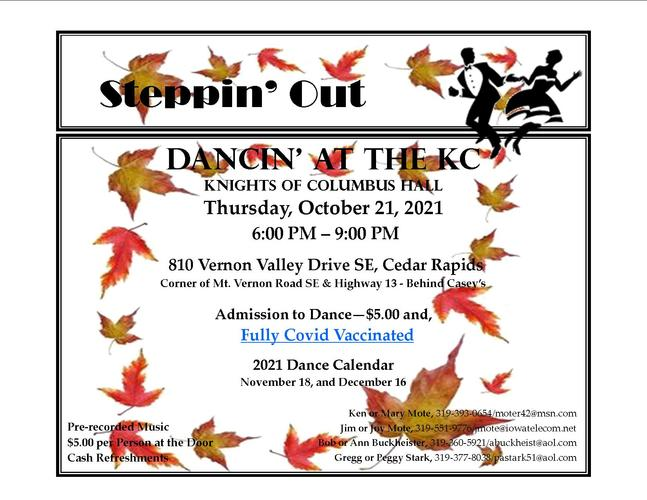 STEPPIN' OUT TO KC - BALLROOM AND LATIN DANCING